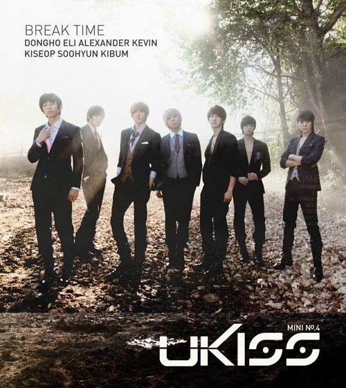 Mini album Break Time by U-KISS