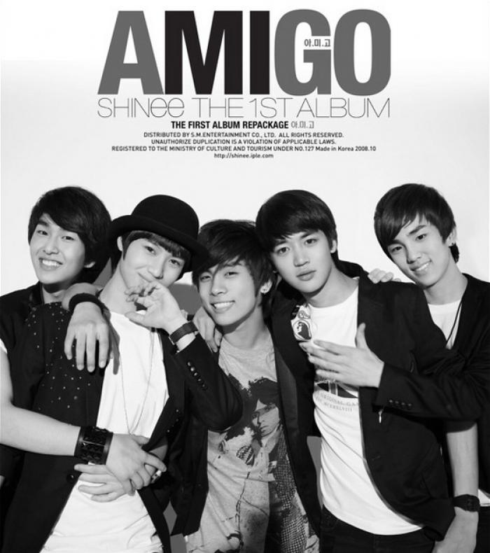 Album Amigo by SHINee