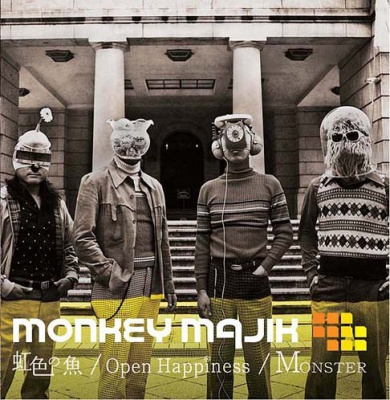 Album Nijiiro no Sakana / Open Hapiness / Monster by Monkey Majik