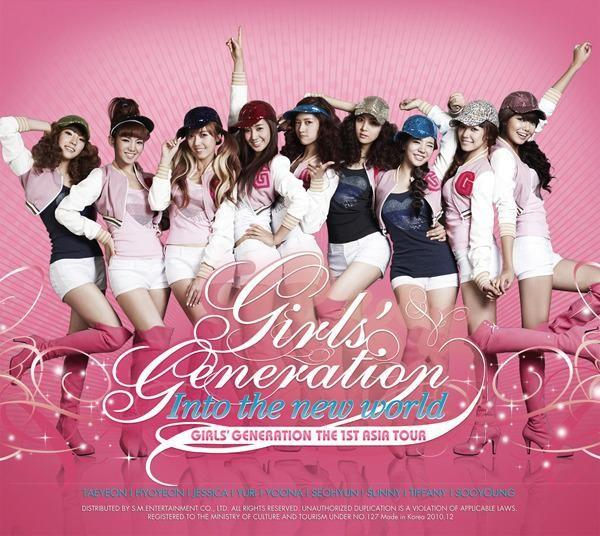 Album The 1st Asia Tour : Into the New World by Girls' Generation