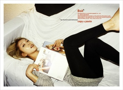 Album Copy & Paste (Repackage Album) by BoA
