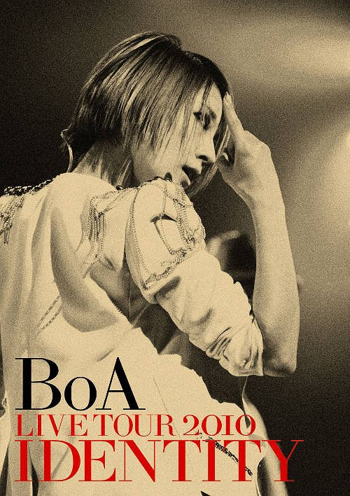 Album BoA LIVE TOUR 2010 IDENTITY by BoA