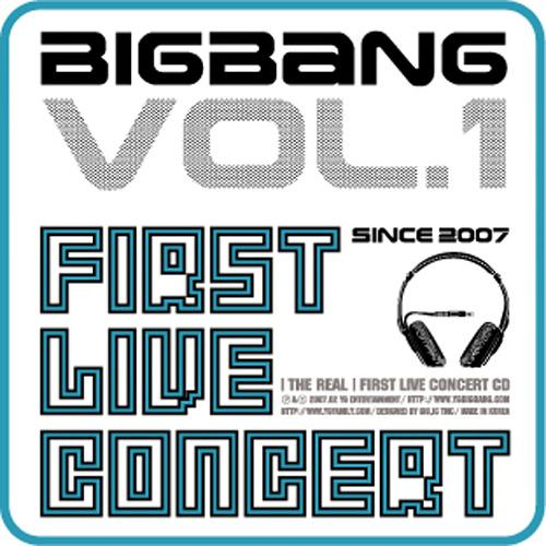 Album The Real 1st Live Concert by Big Bang