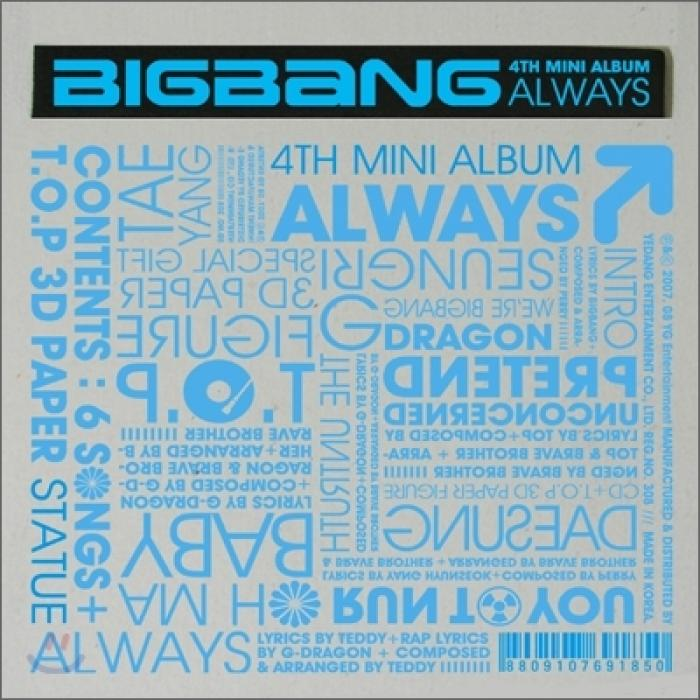 Single Always by Big Bang