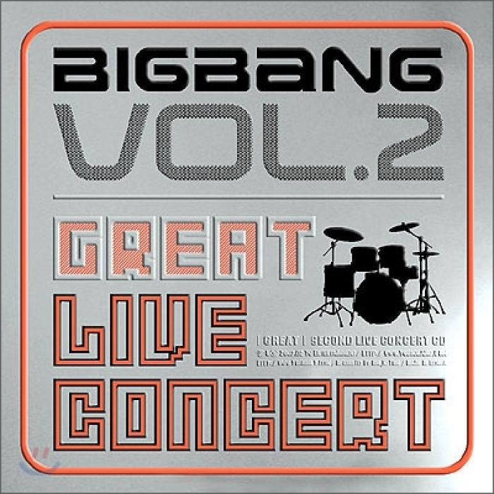 Album Great 2nd Live Concert by Big Bang