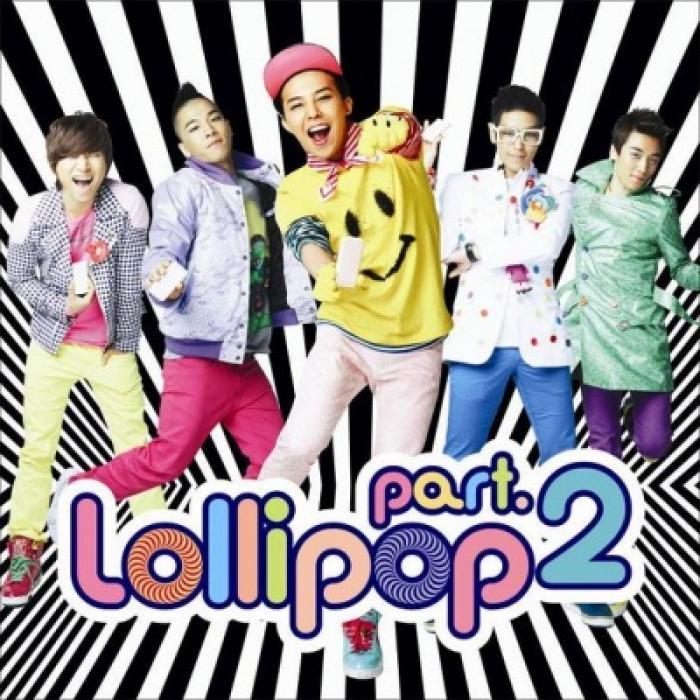 Big Bang 2 Album Cover Lollipop Part 2 Big Bang
