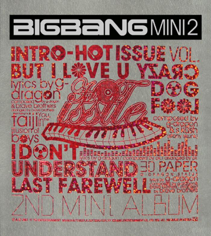 Mini album Hot Issue  by Big Bang