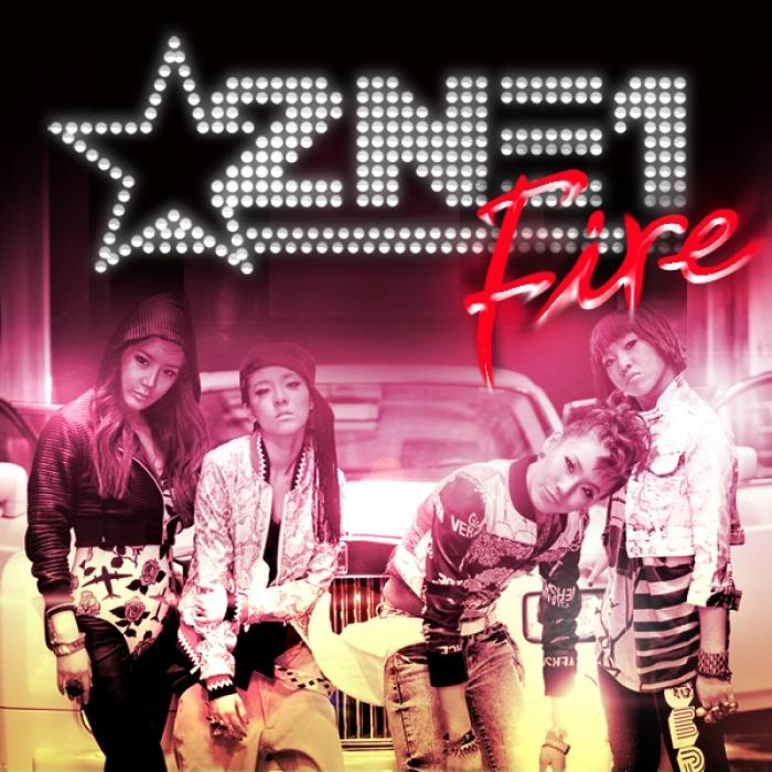 Single Fire by 2NE1