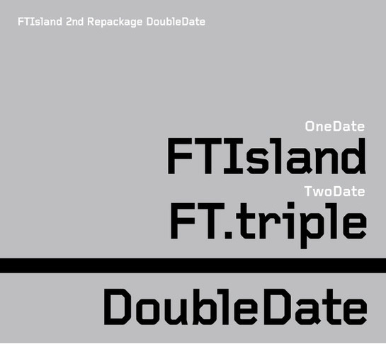 Album F.T Island - Double Date by F.T. Island