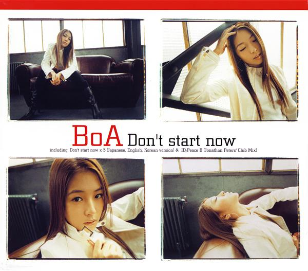 Single Don't start now by BoA