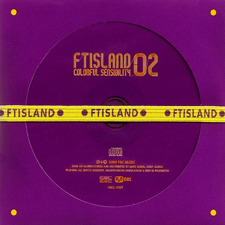 Album Vol 2: Colorful Sensibility by F.T. Island