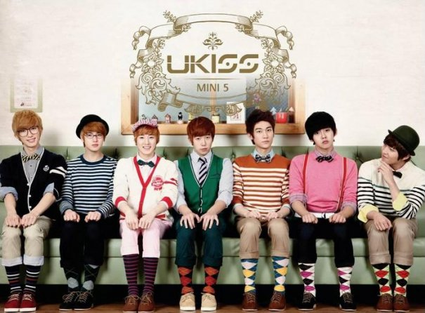 Mini album Bran New Kiss by U-KISS