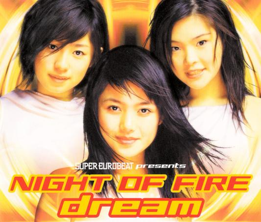 Single SUPER EUROBEAT presents NIGHT OF FIRE by Dream