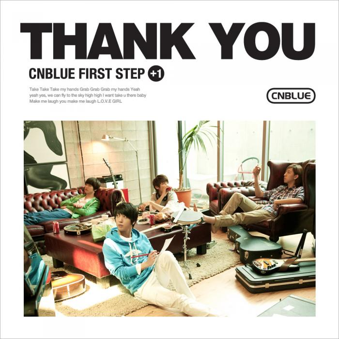 Mini album FIRST STEP +1 THANK YOU by CNBLUE