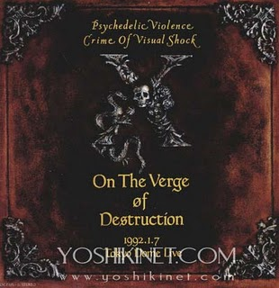 Album On the Verge of Destruction by X Japan