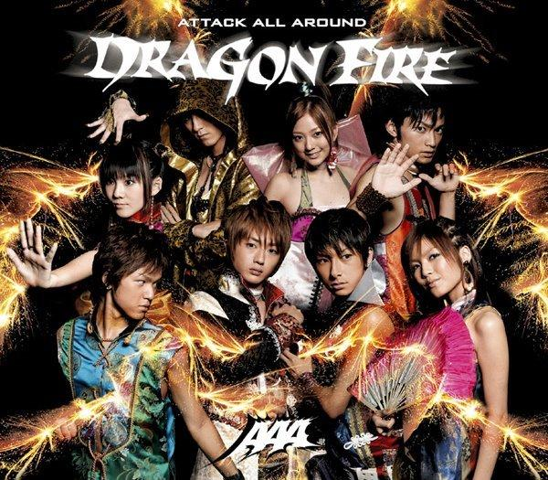 Single DRAGON FIRE by AAA