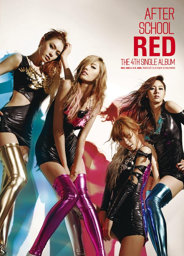 Single A.S. RED The 4st Single Album by After School