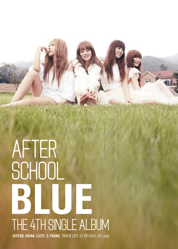 Single A.S. BLUE 4st Single Album by After School
