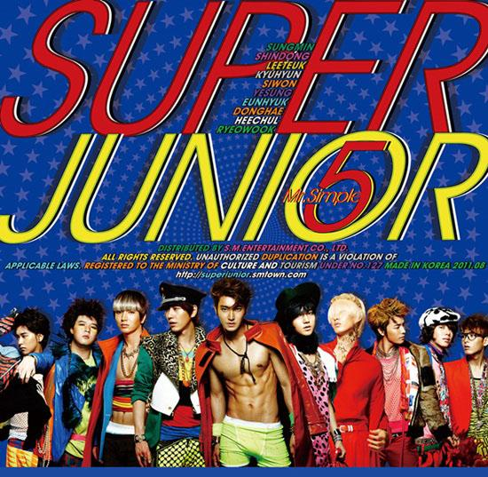 Album Mr. Simple by Super Junior