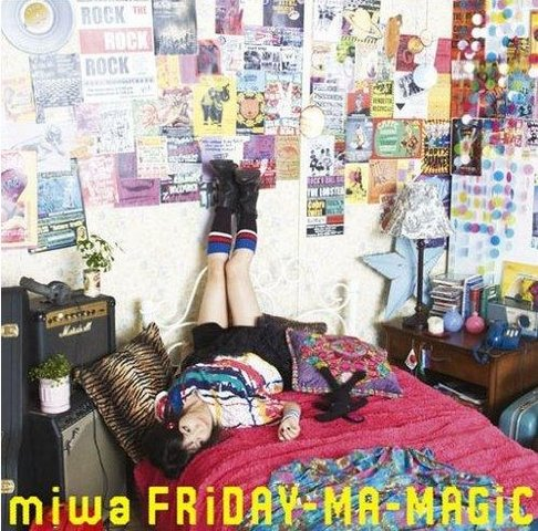 Single FRiDAY-MA-MAGiC by miwa