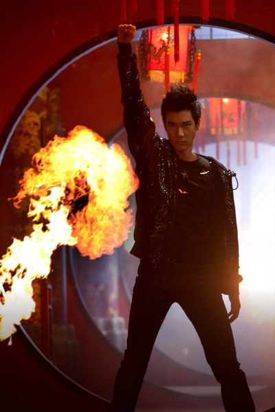 Album Open Fire by Lee Hom Wang