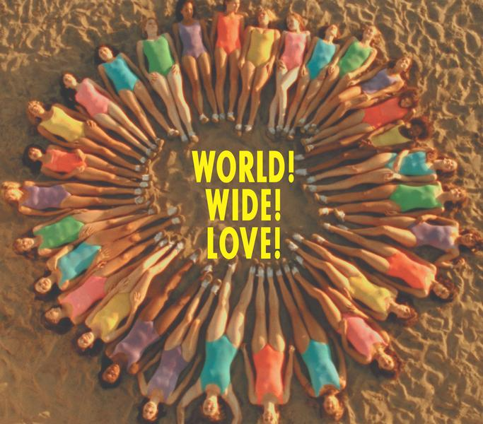Single WORLD! WIDE! LOVE! by Hitomi
