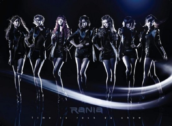 Mini album Time To Rock Da Show by RaNia