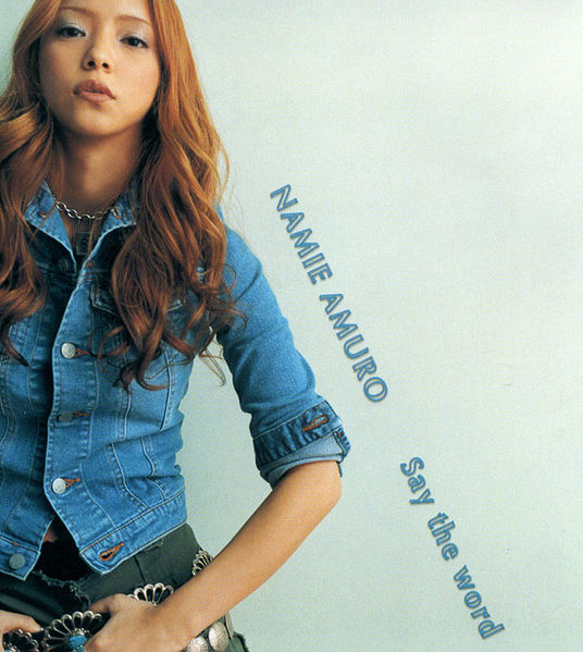 Single Say the word by Namie Amuro