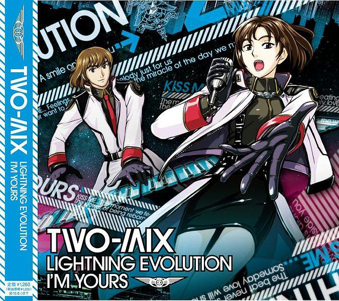 Single LIGHTNING EVOLUTION / I'M YOURS by TWO-MIX
