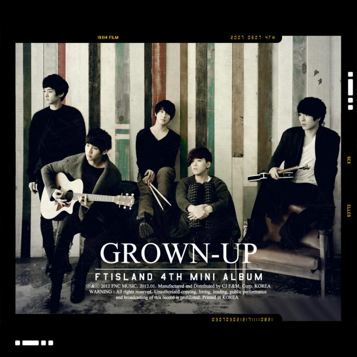 Mini album GROWN-UP by F.T. Island