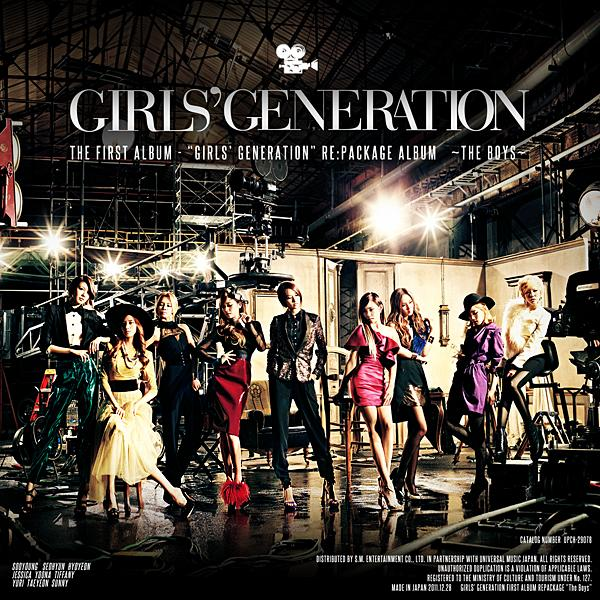 Album girls' generation ~the boys~ by Girls' Generation