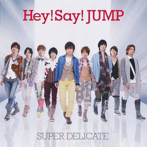 video super delicate hey say jump a upbeat