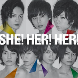 Single SHE! HER! HER! by Kis-My-Ft2