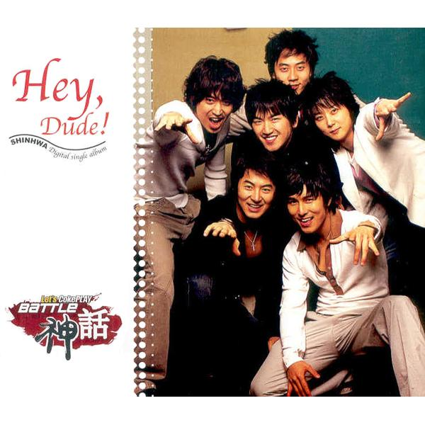 Single Hey Dude by Shinhwa