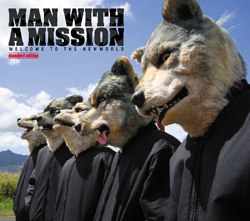 Mini album WELCOME TO THE NEW WORLD by MAN WITH A MISSION