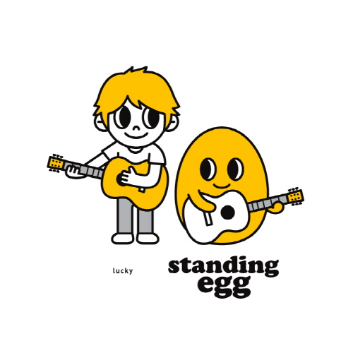 Mini album Lucky by Standing Egg
