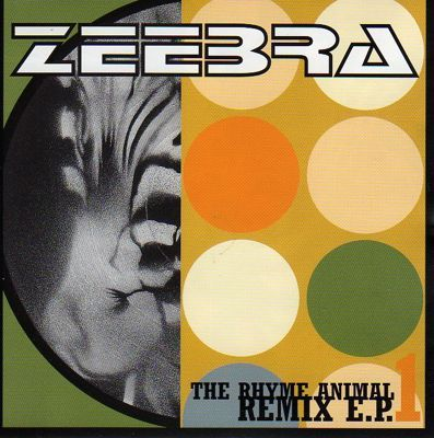 Single The Rhyme Animal Remix E.P.1 by Zeebra