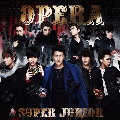 Single Opera (Japanese Version) by Super Junior
