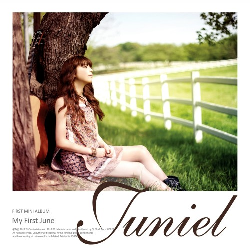 Mini album My First June by Juniel