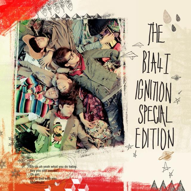 Album B1A4 'Ignition' Special Edition by B1A4