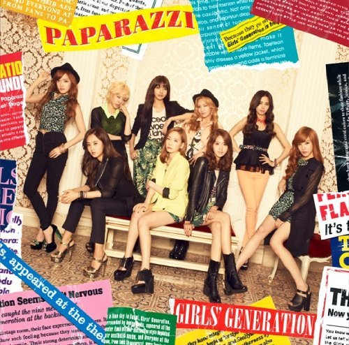 Single PAPARAZZI by Girls' Generation