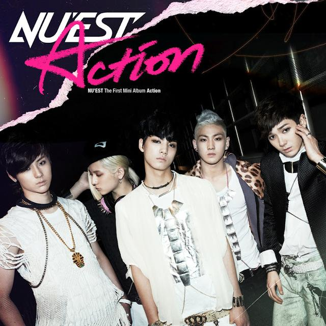 Mini album Action by NU'EST