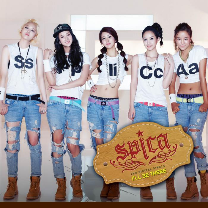 Single I'll Be There by Spica (Kpop)