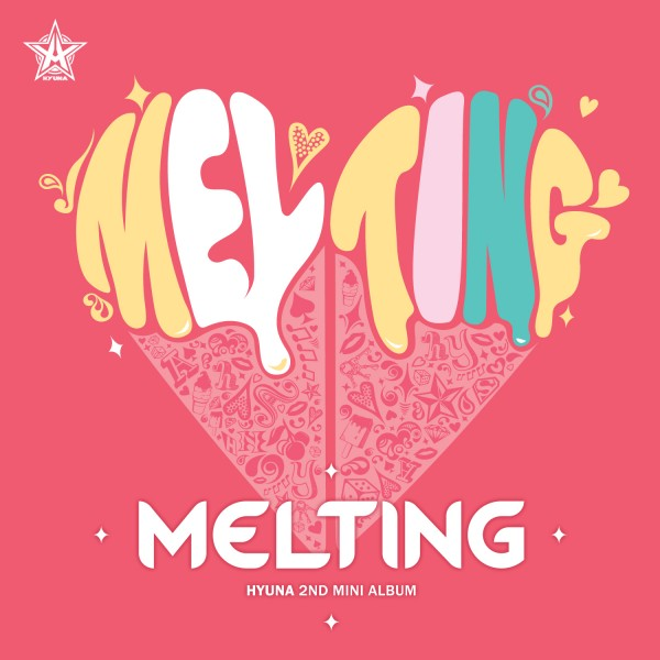 Mini album Melting by HyunA