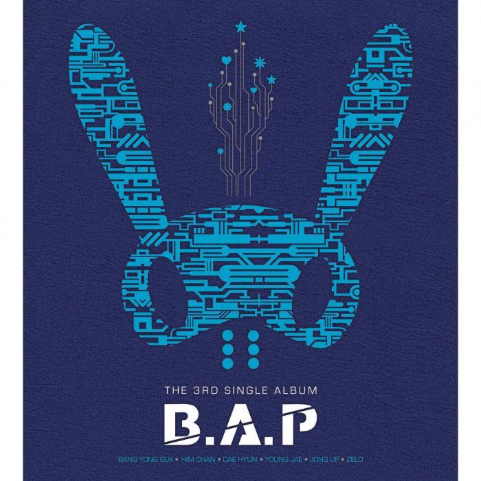 B.A.P - boyband - kpop Bap 1004 Album Cover