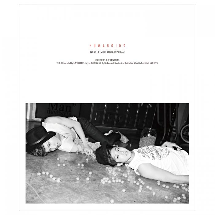 Album Humanoids (Repackaged Album) by Tohoshinki