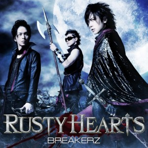 Single RUSTY HEARTS by BREAKERZ