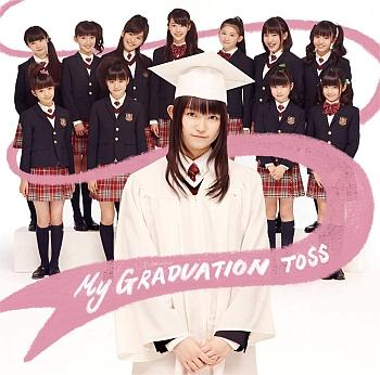 Single My Graduation Toss by Sakura Gakuin