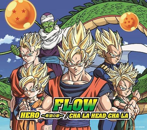 Single HERO ~Kibou no Uta~ / CHA-LA HEAD-CHA-LA (HERO ~希望の歌~ / CHA-LA HEAD-CHA-LA) by FLOW
