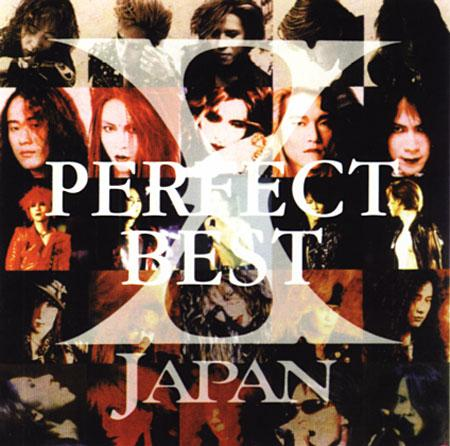 Album Perfect Best by X Japan
